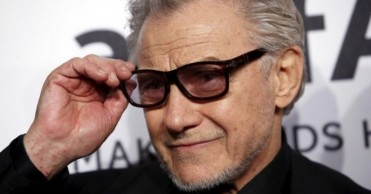 Actor Harvey Keitel attends the 2016 amfAR New York Gala at Cipriani Wall Street in Manhattan, New York.